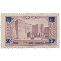 1930 Maroc - Porte Bab-el-Mansour - Mecknès
