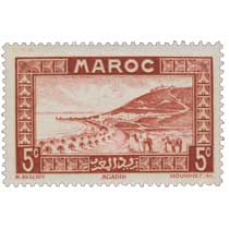 1933 Maroc - Rade d'Agadir