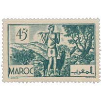 1939 Maroc - Les Arganiers
