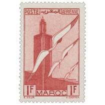 1939 Maroc - Minaret et ailes
