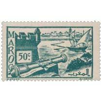 1945 Maroc - Remparts de Salé
