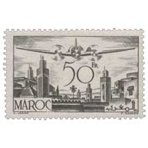 1945 Maroc - Avion