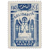 1946 Maroc - Mausolée du Maréchal Lyautey - Casablanca