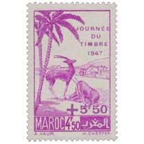 1947 Maroc - Gazelles