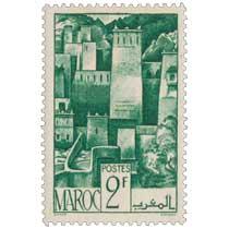 1947 Maroc - Kasbah de l'Atlas