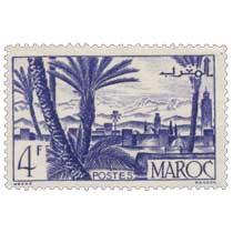 1947 Maroc - Oasis