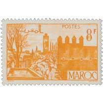 1947 Maroc - Jardins de Fès