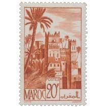 1947 Maroc - Kasbah d'Ouarzazat