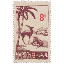 1948 Maroc - Gazelles