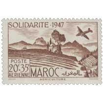 1948 Maroc - Au profit des Oeuvres de solidarité