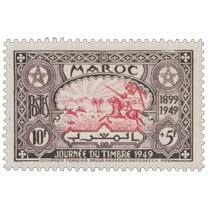 1949 Maroc - Chasse à la gazelle