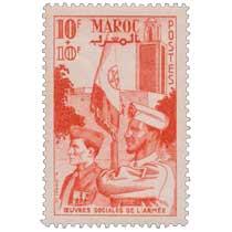 1949   Maroc - Au profit des Oeuvres sociales de l'Armée
