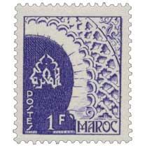 1949 Maroc - Porte des Oudaïas - Rabat