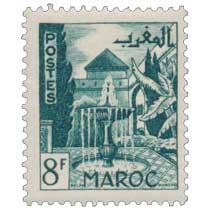 1949 Maroc - Jardins - Meknès