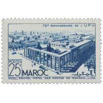 1949 Maroc - Nouvel Hôtel des Postes de Meknès
