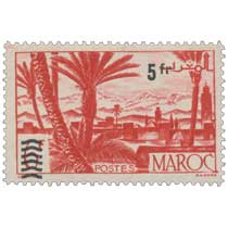 1950 Maroc - Oasis