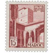 1951 Maroc - Patio des Oudayas