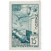 1953 Maroc - Remparts de Mogador