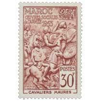 1953 Maroc - Cavaliers maures