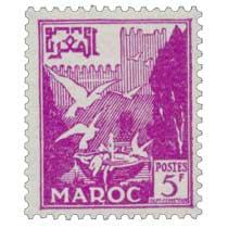 1954 Maroc - Vasque aux pigeons