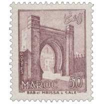 1955 Maroc - Bab-el-Mrissa à Salé
