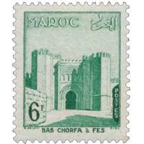 1955 Maroc - Bab-el-Chorfa, à Fès