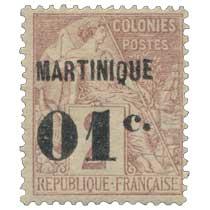Martinique - Type Alphée Dubois
