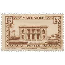 Martinique - Palais du gouvernement, à Fort-de-France