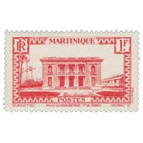 Martinique - Plais du gouvernement, Fort-de-France