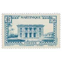Martinique - Palais du gouvernement, Fort-de-France
