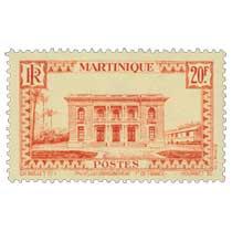 Martinique - Palais du gouvernement  Fort-de-France