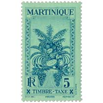 MARTINIQUE  Timbre Taxe Fruits