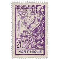 Martinique - Exposition internationale  Paris 1937
