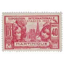 Martinique - Exposition internationale   Paris 1937