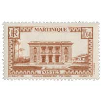 Martinique - Palais du gouvernement Fort-de-France