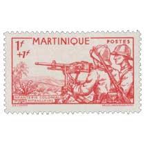 Martinique - Infanterie coloniale Mitrailleurs