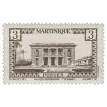 MARTINIQUE  Palais du gouvernement Ft de France