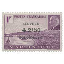 Martinique - Maréchal Pétain