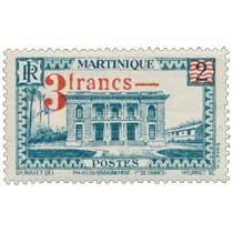 MARTINIQUE Palais du gouvernement Ft de France