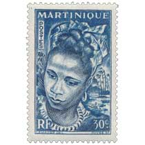 Martinique - jeune martiniquaise