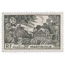 Martinique - Fruits locaux