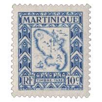 Martinique - Timbre taxe