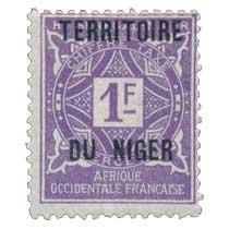 Niger - Chiffre Taxe à percevoir