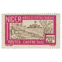 Afrique occidentale française - Niger CHIFFRE TAXE
