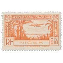 Niger - Avion et paysage