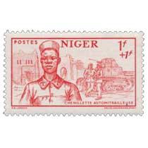 Niger - Chenillette automitrailleuse