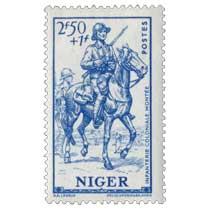 Niger - Infanterie coloniale montée