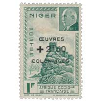 Afrique occidentale française - Niger - Oeuvres Coloniales