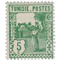 Tunisie - Type porteuse d'eau