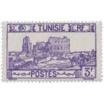 Tunisie - Amphithéâtre d'El Djem
